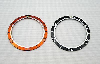 High Quality Replacement Bezel Insert For Omega Planet Ocean - Uk Stock