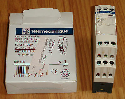 Telemecanique RE7RM11BU Time Delay Relay