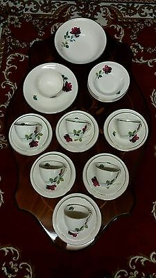 Tea set Alfred meakin realm rose plus extras