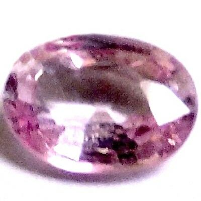 NATURAL PINK CEYLON SPINEL GEMSTONE OVAL SHAPE 6.7 x 4.5 mm  UNTREATED SPINEL