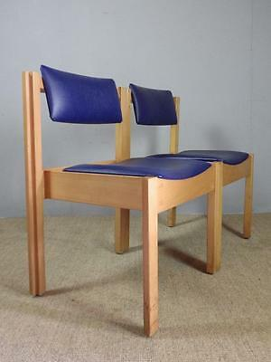 16 AVAILABLE Vintage Mid Century Clive Bacon Stacking Interlocking Chairs incVAT