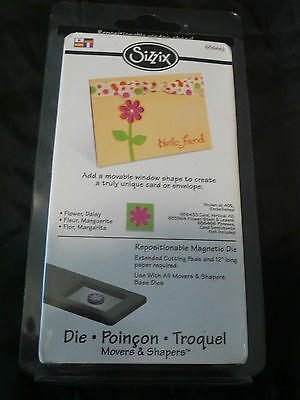 Sizzix Movers and Shapers Daisy Flower Die NIP