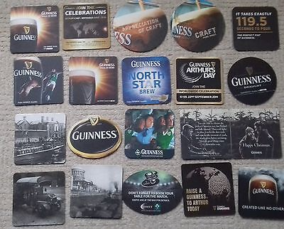 20 Guinness  Beer Mats Coasters