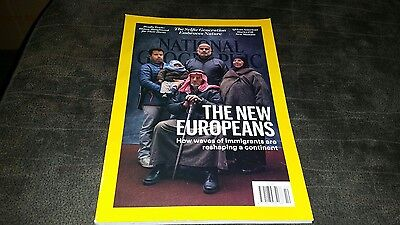 National Geographic Magazine--The New Europeans--October 2016
