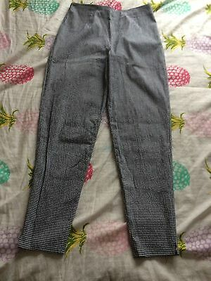Vintage 90s Gingham Mom Trousers 12