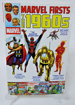 Marvel Firsts The 1960's 1st Spider-Man THOR Avengers Iron Man Marvel TPB New