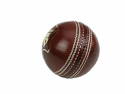 Cricket Balls Red Leather Junior Box Of 6  Size  4.5 Oz