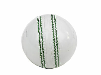 Cricket Balls White Leather Junior X 6 in Box Size  4.5 oz