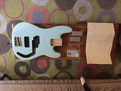 Squier Classic Vibe Precion bass body with Thunderbird pickups  project