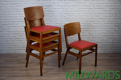 Vintage Centra Stacking Restaurant Cafe Bar Chairs 80 AVAILABLE (inc VAT)