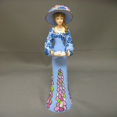 Jane Lady Figurine Victorian Tea Party Bradford Exchange