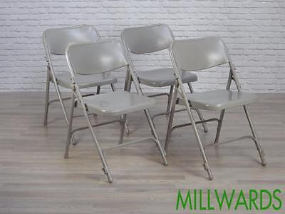 Vintage Industrial Metal Folding Cafe Bar Chairs 15 AVAILABLE