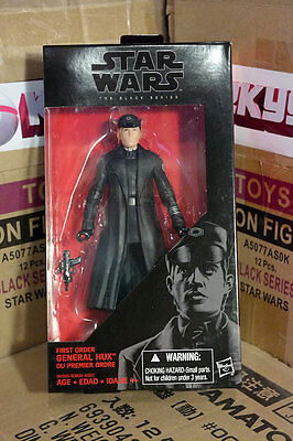 """Star Wars Black Series 6"""" General Hux The Force Awakens Action Figure NEW!"""