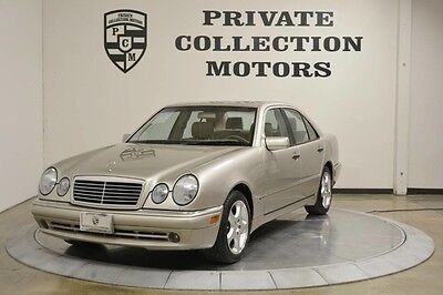 1999 Mercedes-Benz E-Class  1999 Mercedes Benz E430 Sport Package Low Miles One Owner Carfax Certified