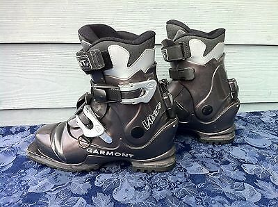 25.5 Garmont Libero 2-Buckle Backcountry Telemark XC Boots 75mm 3-pin Scarpa T4
