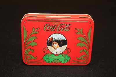 Coca Cola Vintage Metal Tin with Playing Cards