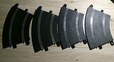 scalextric sport curves set of 4 - good condition