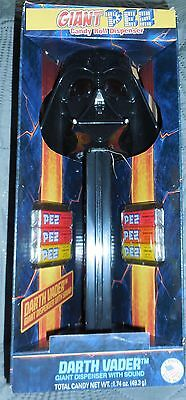Star Wars Giant Darth Vader Pez Dispenser with Realistic Sound