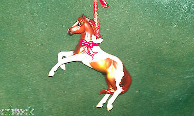 Breyer 2011 Breed Christmas Ornament  The Mustang --- Fine Porcelain Nib
