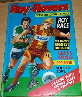 Roy of Rovers Yearbook 1993, Roy Race, Good Condition Book, ISBN 1853862886