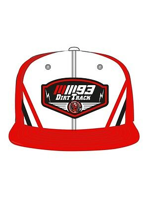 Official Marc Marquez Dirt Track Visera Plana Gorra Ajustable - 16 43033
