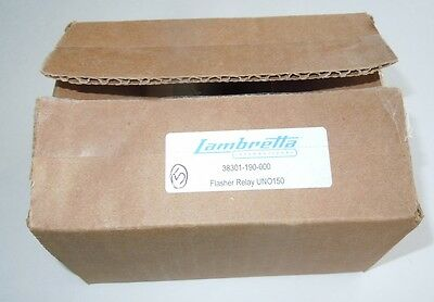 LAMBRETTA UNO150 UNO 150 Flasher Relays FIVE 38301-190-000 NEW