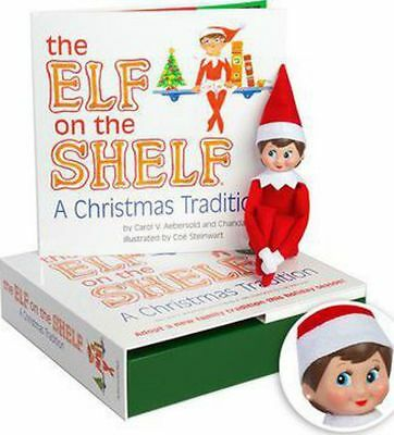 The Elf on the Shelf: A Christmas Tradition [With Book] (Light Skin Girl) by Car