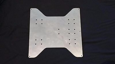 3mm aluminium bed plate for Wanhao Duplicator i3/Cocoon Create/Balco 3D printers