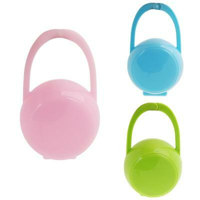 Portable Baby Boys Girl Infant Dummy Pacifier Nipple Case Holder Box Soother Box