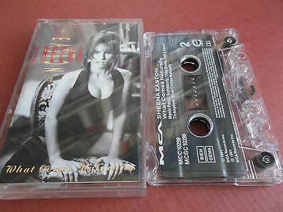 Sheena Easton - What Comes Naturally - 1991 Mca Musikkassette (Audio Tape)