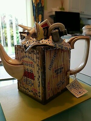 Paul Cardew limited edition novelty teapot