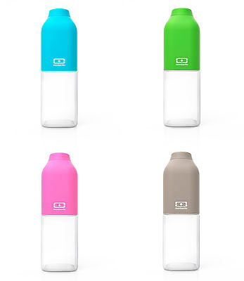 Monbento Positive Water Bottle 50cl. Soft Touch, BPA Free. Hydrate in Style