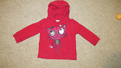 Next hoodie girl 2-3 years excellent condition