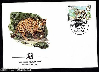 1983 Belize FDC 9/12/83 The Jaguar $1 SG759 R27491