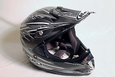 Bike Helmet HJC Arena Silver Black and White CL-X5Y