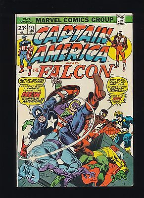 Captain America #181! (1975 Marvel Comics)! SEE SCANS! RARE KEY BOOK! WOW!