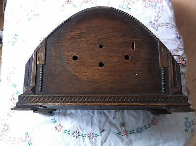 A Mantle Clock Case (Wooden Case Only) For Restoration