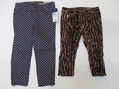 Girls designer trousers skinny cropped age 5 6 7 8 9 10 11 12 13 RRP 39.99! NEW