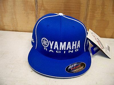 Factory Effex Official Licensed Yamaha Racing Flexfit Hat New w/ Tags Size L/XL