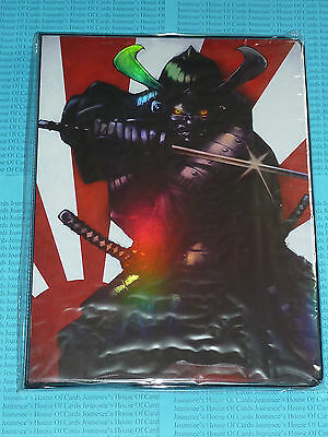 Folder Max Protection A4 Sized 9 Pocket Portfolio Artwork: Samurai NEW