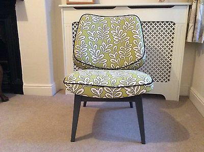 Vintage, retro, 60's style cocktail chair