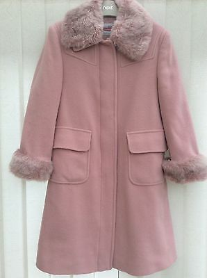 Girl's Designer Coat by *MICHAEL DE LEON* ~ Age 9-10 yrs ~ *BEAUTIFUL CONDITION*