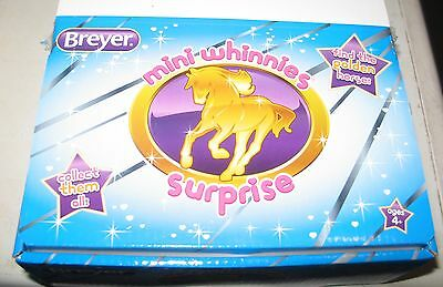 breyer mini whinny whinnies blind bag series 1 find the golden horse ONE BAG