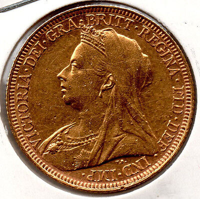 1894S Full Gold Sovereign. HIGH GRADE.  Minted in Sydney PRICED TO SELL