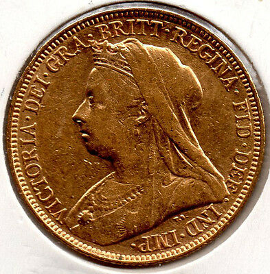 1900S Full Gold Sovereign. HIGH GRADE.  Minted in Sydney PRICED TO SELL