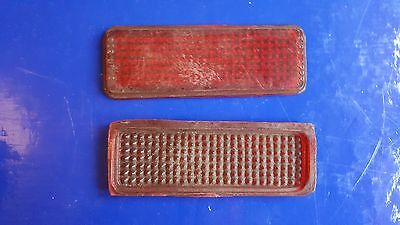 Early 50's Vespa rear light lens   OLD STOCK