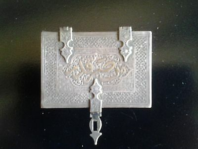Beautiful and unique small antique silver box from the Middle East