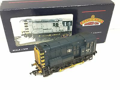Bachmann 32-102 BR Class 08 Shunter 08623 BR Blue (Weathered)