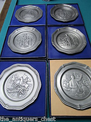 "Franklin Mint's 1970s 13 plates 'The American Revolution Bicentennial...""[a4]"