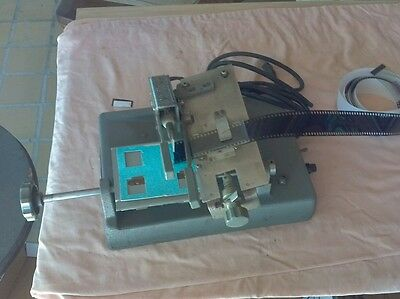 Vintage commercial stereo realist slide mount machine